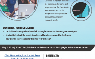 THIS EVENT HAS BEEN CANCELED. Due to unforeseen circumstances, we will be postponing our Program on Creating a Competitive Workplace. Thank you for your interest and keep an eye out for a new date!